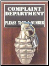 Wall Mounted Complaint Dept. Grenade (Pineapple)