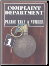Wall Mounted Complaint Dept. Grenade (Baseball)