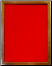 "9"" X 12"" Oak Frame  - Red"