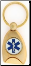 Star of Life Service Key Ring