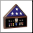 Combination Flag Case / Shadow Box