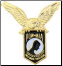 POW / MIA Shield with Eagle