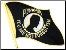 POW / MIA Waving Flag (Black)