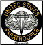 United States Paratrooper Magnet