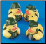 Rubber Duckie - Set of all 4 Camo Duckies