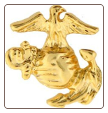 USMC EGA (Rt) (Gold)