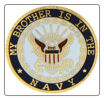 My Brother is in the US Navy