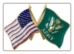 USA / Army Crossed Flags