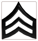 Sgt Stripes ( Black )
