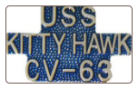 USS Kitty Hawk CV - 63