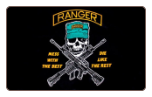 Ranger - Mess with the best die like the rest 3' x 5' Polyester Flag