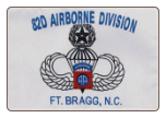 82nd Airborne Division Fort Bragg, NC  3' x 5' Polyester Flag