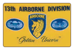 13th Airborne 3' x 5' Polyester Flag