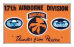 17th Airborne 3' x 5' Polyester Flag