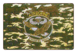 Airborne Camo 3' x 5' Polyester Flag