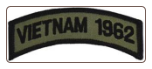 Shoulder Patch Vietnam 1962