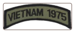 Shoulder Patch Vietnam 1975