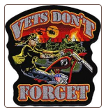 Vets Don't Forget 4""