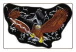 POW Eagle with Lightening 5""