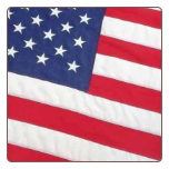 8' x 12' Outdoor Nylon American Flag