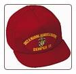 RED CAP ONCE A MARINE ALWAYS A MARINE  ( SEMPER FI  )