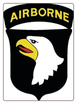 101st Airborne (Screaming Eagle) Magnet