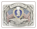 Purple Heart Combat Wounded