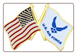 US / USAF Flags