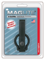 D-Cell MAGlite Leather Belt Holder