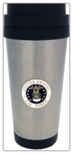 16oz US Air Force Travel Tumbler