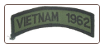 Vietnam 1962 Shoulder Tab