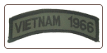 Vietnam 1966 Shoulder Tab