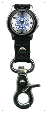 Coast Guard Clip Watch