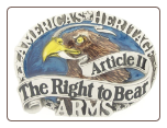 """America's Heritage - Article II The Right to Bear Arms"""