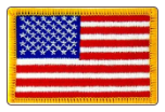 "2"" x 3"" American Flag (Left Shoulder)"